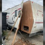 RV delamination repair Travel Trailer